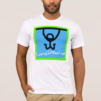 Logo adapté de carré du T-shirt des hommes