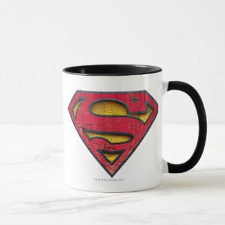 Logo affligé par | de S-Bouclier de Superman Mugs