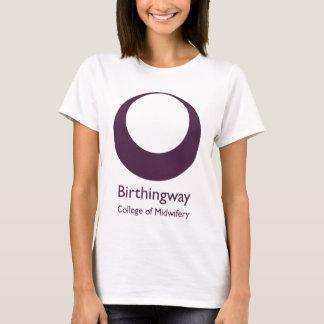 Logo blanc de Birthingway T-shirt