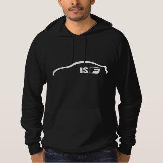 Logo blanc de silhouette d'ISF Pulls Avec Capuche