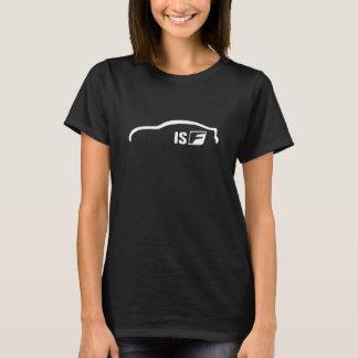 Logo blanc de silhouette d'ISF T-shirt