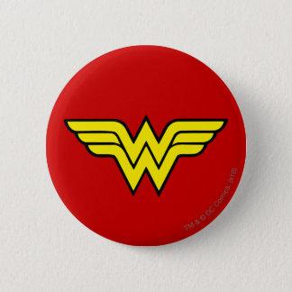 Logo classique de la femme de merveille | pin's