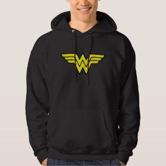 Logo classique de la femme de merveille | veste à capuche
