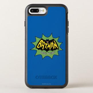 Logo classique de série télévisée de Batman Coque Otterbox Symmetry Pour iPhone 7 Plus