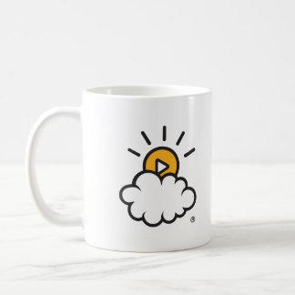 Logo classique de tasse de café grand
