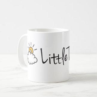 Logo classique des textes de tasse de café