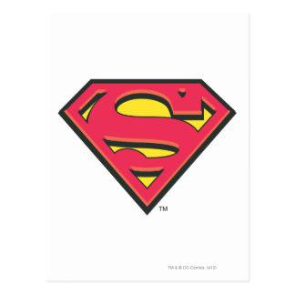 Logo classique du S-Bouclier | de Superman Cartes Postales