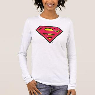 Logo classique du S-Bouclier   de Superman T-shirt À Manches Longues