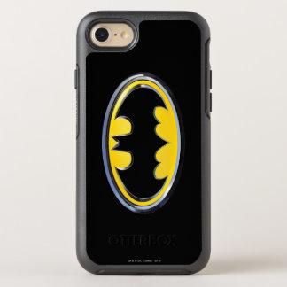 Logo classique du symbole | de Batman Coque OtterBox Symmetry iPhone 8/7