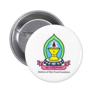 Logo coloré CTTF Badge Rond 5 Cm
