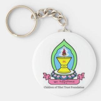 Logo coloré CTTF Porte-clé Rond