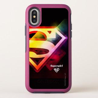 Logo coloré de Supergirl