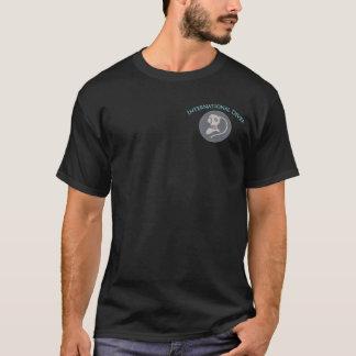 Logo commercial de plongeur de plongeur t-shirt