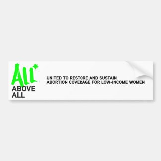 Logo d'All* surtout Autocollant De Voiture