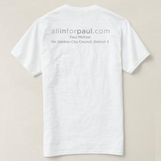 logo d'allinforpaul.com le Texas T-shirt