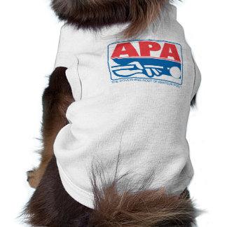 Logo d'APA T-shirt Pour Chien