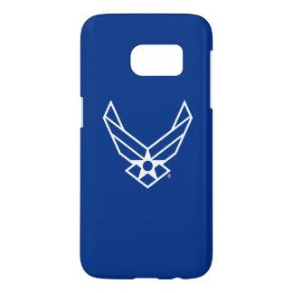 Logo d'armée de l'air des États-Unis - Bleu Coque Samsung Galaxy S7