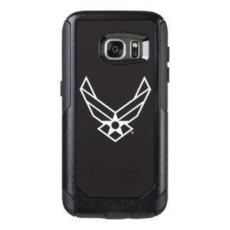 Logo d'armée de l'air des États-Unis - Noir Coque OtterBox Samsung Galaxy S7