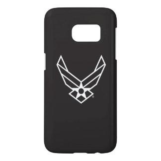 Logo d'armée de l'air des États-Unis - Noir Coque Samsung Galaxy S7