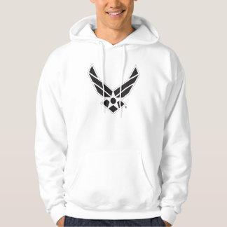 Logo d'armée de l'air des États-Unis - Noir Veste À Capuche