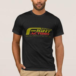 Logo d'avant de T-shirt d'usine de combat de