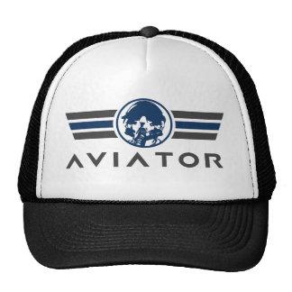Logo d'aviateur casquettes de camionneur