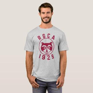 Logo de base de rouge du T-shirt des hommes de