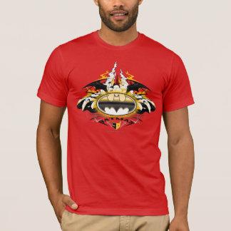 Logo de Batman avec des voitures T-shirt