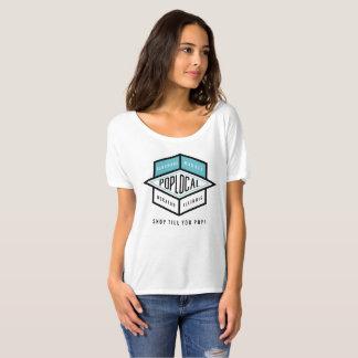 Logo de bleu de PopLocal T-shirt