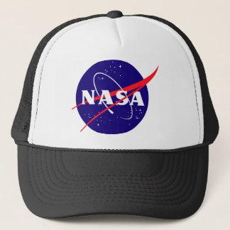 Logo de boulette de viande de la NASA Casquette Trucker