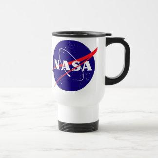 Logo de boulette de viande de la NASA Mug De Voyage En Acier Inoxydable