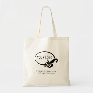 Logo de Budget Business Tote Bag Custom Company