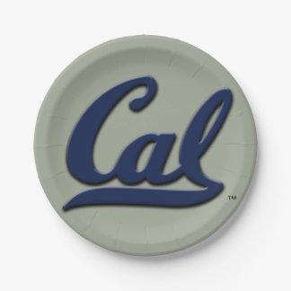 Logo de calorie assiettes en papier