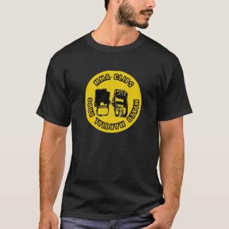 Logo de Camiseta Negra T-shirt