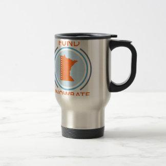 logo de cercle de fundsnowbate mug de voyage