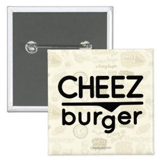 Logo de Cheezburger (noir) Badge