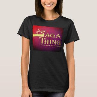 Logo de chose de saga t-shirt