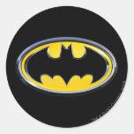 Logo de classique de Batman Adhésifs Ronds