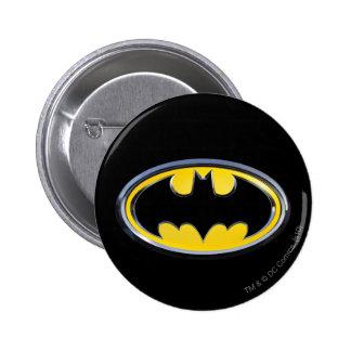 Logo de classique de Batman Badge Rond 5 Cm