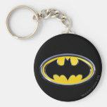 Logo de classique de Batman Porte-clé Rond