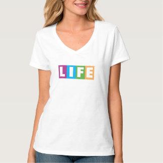 Logo de classique de la vie t-shirt