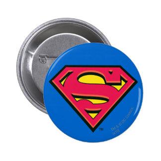 Logo de classique de Superman Badge Rond 5 Cm