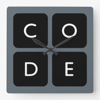 logo de Code.org Horloges Murales