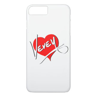 Logo de coeur de Vevey par Baronsky Coque iPhone 7 Plus