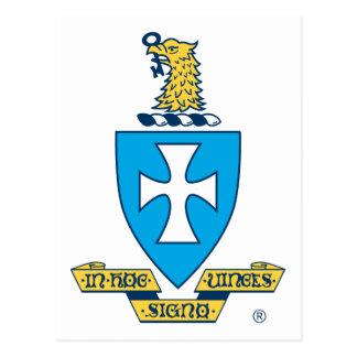 Logo de crête de Chi de sigma Cartes Postales