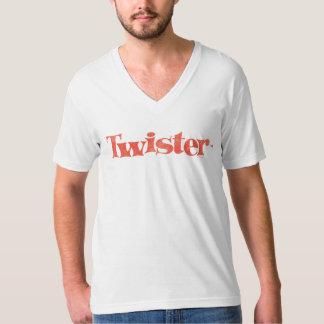 Logo de cru de tornade t-shirt