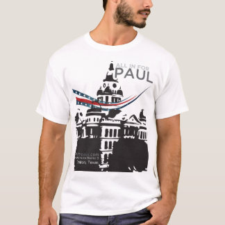 logo de dôme d'allinforpaul.com t-shirt