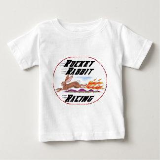"""Logo """"de emballage"""" d'amusement de lapin de Rocket T-shirt Pour Bébé"""
