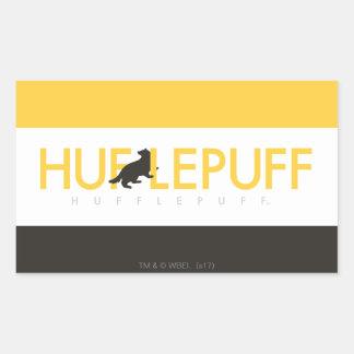 Logo de fierté de Chambre de Harry Potter   Sticker Rectangulaire