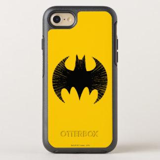 Logo de filet du symbole | de Batman Coque OtterBox Symmetry iPhone 8/7